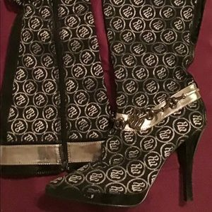 Rocawear knee boots